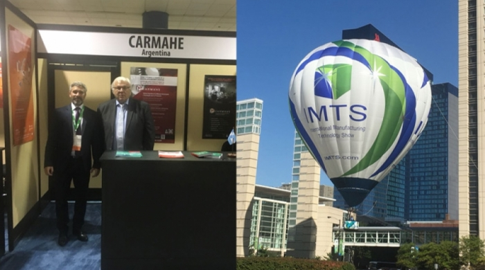 CARMAHE represents the country in IMTS Chicago