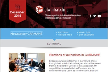 Elections of authorities in CARMAHE