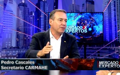 """Pedro Cascales en Mercado x Expertos: """"Estamos en el top 20 de paises que consumen maquinas herramienta"""""""