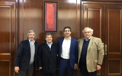 Directivos de CARMAHE se reúnen con el Secretario de Industria