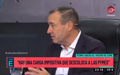 """Pedro Cascales: """"Hasta ahora los candidatos no están hablando de políticas de fondo"""""""