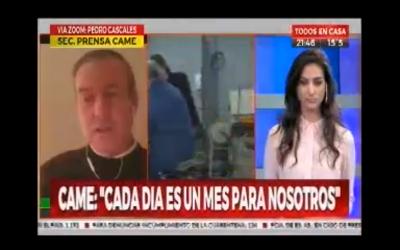 """Pedro Cascales: """"La situación de las pymes es dramática"""""""