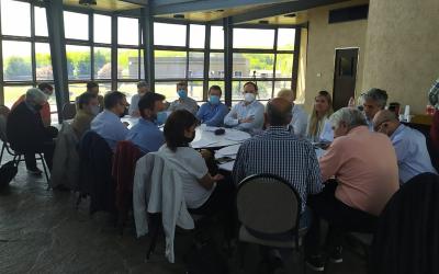 Reencuentro en CARMAHE: se revalidó la Comisión Directiva